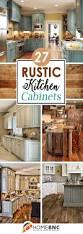 Easy Kitchen Cabinet Makeover 25 Best Rustic Cabinets Ideas On Pinterest Rustic Kitchen