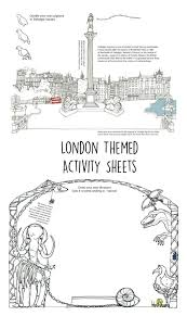 Printable Activity Book London Activity Book In The Playroom