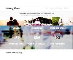wedding planner websites 30 wedding html5 website templates