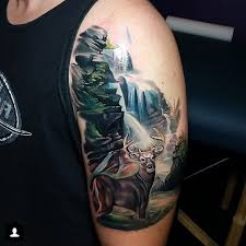 here are the 32 stunning scenic tattoo designs to get inspired by