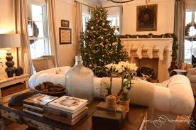 country home christmas decorating ideas cozy black and white