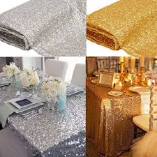online get cheap sequin table cloth wedding aliexpress com