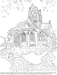 download famous artist coloring pages
