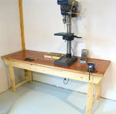 Woodworking Bench Top Surface by Easy To Build Workbench