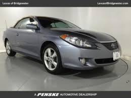 toyota camry for sale in nj and used toyota camry solara convertibles for sale in