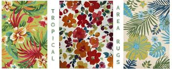 Area Rugs Tropical Outdoor And Indoor Tropical Area Rugs Beachfront Decor