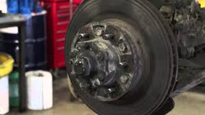 how to replace your 4wd toyota front brakes youtube