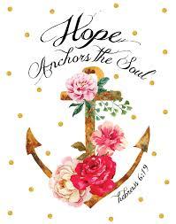 Love Anchors The Soul 8x10 - hope anchors the soul hebrews 6 19 seeds of faith