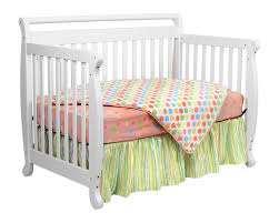 Convertible White Crib Davinci Emily 4 In 1 Convertible Baby Crib In White W Toddler