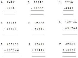 addition and subtraction worksheets for grade worksheet by adding or subtracting worksheet on addition