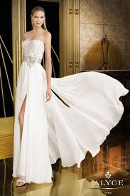 wedding and prom dresses alyce prom white prom dresses that do not look like wedding