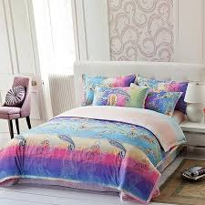 Purple And Teal Bedding Teal Blue Purple And Pink Western Paisley And Graffiti Print