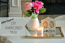 Pottery Barn Mirror Knock Off by Absolutely Arkansas Diy Anthropologie Inspired Tray Look For