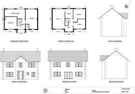 ground floor first floor home plan modern 2 levels house plan idea with ground floor plan and first