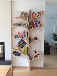 the elm tree shelf a practical tree shelf design by bespoak interiors
