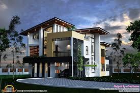 contemporary floor plans contemporary home designs in kerala 2165 sq ft modern contemporary