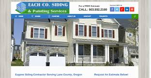 eugene website design seo online marketing social media eugene siding installation