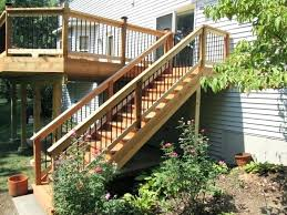 deck without stairs deck stair basics deck stairs railing height