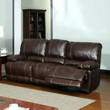Leather Sectional Sofa With Power Recliner Stratus Leather Power Reclining Sofa Sectional With Recliner