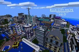 Minecraft City Maps Blue City Mcpe Google