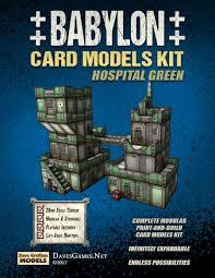 babylon hospital green dave graffam models sci fi rpgnow com