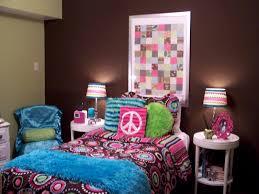 tween zebra bedroom ideas dark brown cubical nightstand elegant