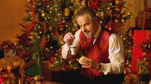 david feherty hangs tacky ornaments from tree golf channel