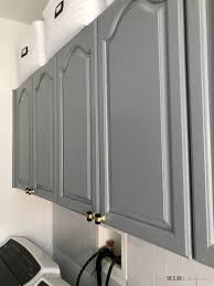how to paint cabinets grey how to simply update your cabinets with paint in a day