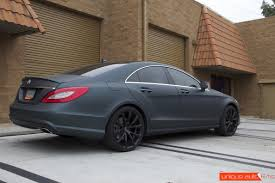 mercedes benz cls550 deep forest matte metallic green vinyl wrap