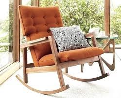 Rocking Lounge Chair Design Ideas Chic Design Modern Wood Rocking Chair Contemporary Chairs Designs