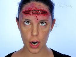 wound halloween makeup