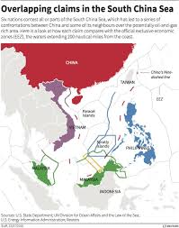 Spratly Islands Map Beijing Flew A Strategic Bomber Around Contested South China Sea