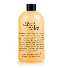 philosophy bath and shower gel vanilla birthday cake shoo shower gel bath baths