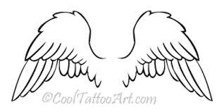 tattoo angel simple angel wing tattoos art designs cooltattooarts