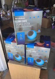 eluma lights speaker system brookstone eluma lights speaker system home garden in everett wa