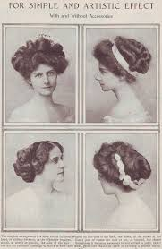 hairstyles in the the 1900s edwardian hairstyles aimee s victorian armoire