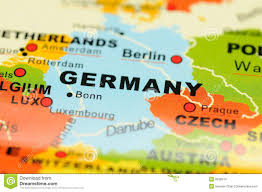 Germany On A World Map by Germany On Map Stock Images Image 6838514
