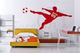 alex soccer wall decals attaching wall decals u2013 incredible home