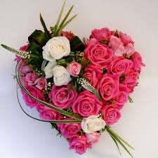 eye catching heart shaped flower arrangement flower