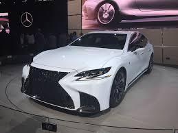 lexus uk youtube lexus ls f sport revealed at new york motor show autocar