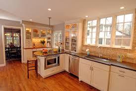 Maple Shaker Kitchen Cabinets Cabinets U0026 Storages Costum Kitchen Cabinet Brown Wood Bar Island