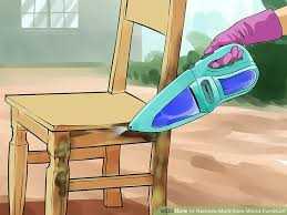 how to remove odor from wood cabinets the easiest way to remove mold from wood furniture wikihow