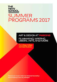 Art And Design Courses London Summer Programs Parsons Of Design