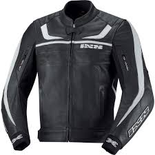 ixs kiara lady black white motorcycle leather jackets ixs carve