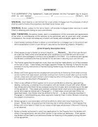 mortgage broker resume sample commercial mortgage broker fee agreement doc by udgllc broker commercial mortgage broker fee agreement doc by udgllc broker contract sample