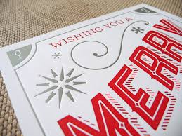 letterpress cards the paper
