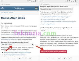 buat akun instagram via operamini cara menghapus akun instagram secara permanen tekno update