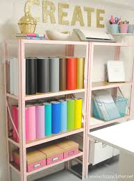 Craft Room Images by Inexpensive Craft Room Shelving Classy Clutter