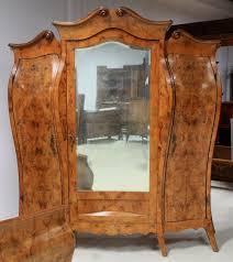 antik schlafzimmer fünfteiliges französisches neobarock schlafzimmer aus nussbaum