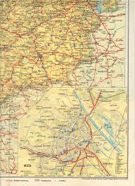 Map Austria Thesamba Com July 1961 Austrian Dealer Map